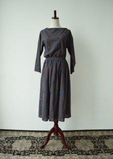 青い鳥 スカート