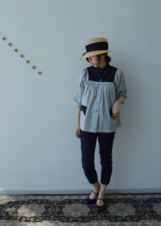 ROLL NECK SHIRTS(STRIPE)