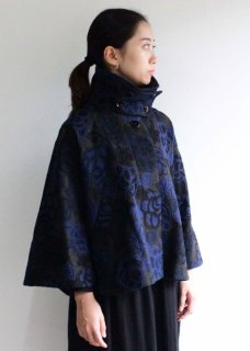 【cabinet限定】花刺繍生地のケープ