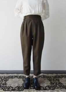 先行予約 Gurkha tapered pants