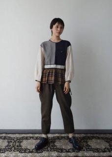 Cupra pachwork blouse