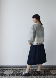 先行予約 Packer lace blouse