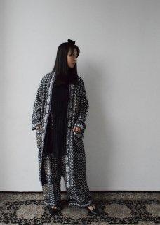 Tsubomi  Silk Robe