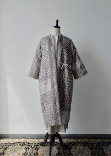Tsubomi  Silk  Quilt Robe
