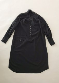 LONG NIGHT SHIRT(BLACK)