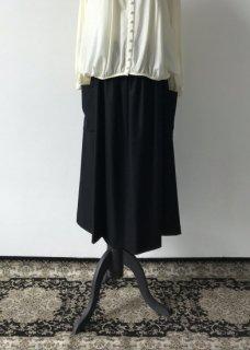 ウール ウエストゴム スカート