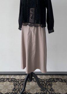 Gurkha flare skirt