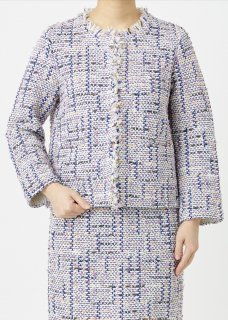 <img class='new_mark_img1' src='https://img.shop-pro.jp/img/new/icons14.gif' style='border:none;display:inline;margin:0px;padding:0px;width:auto;' />SPRING AIR TWEED JACKET