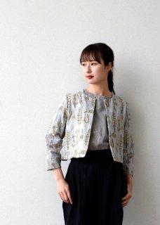 【MORI】刺繍のボレロジャケット
