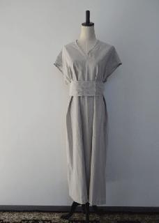 Light linen ancient dress