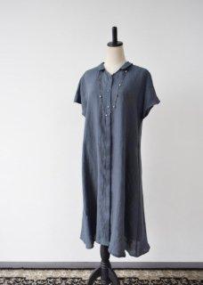 別注 ベルギーリネン のワンピースドレス