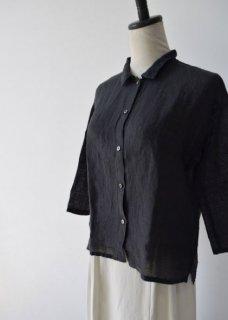 linen square shirt