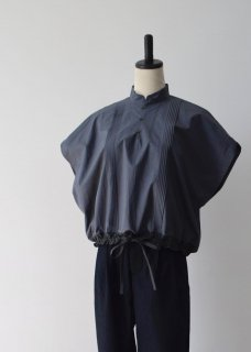 Oykotoen Blouse  (Cotton Linen typewriter)
