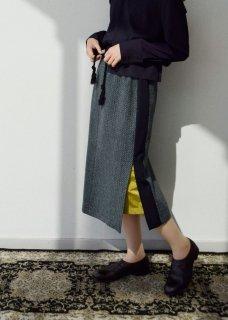 dobby  wool skirt