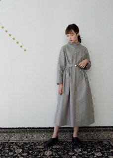 Ancient mythic cotton turtleneck dress