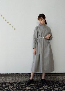 Ancient mythic cotton turtleneck dress