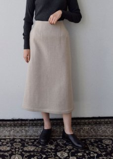 Ancient folk wool skirt
