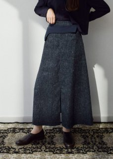 wool silk skirt