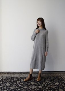 Sphere cashmere knit sweater dress