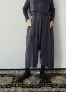 wool cashmere sarrouel pants