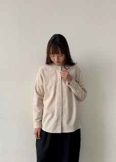 cotton wool nocollar shirt