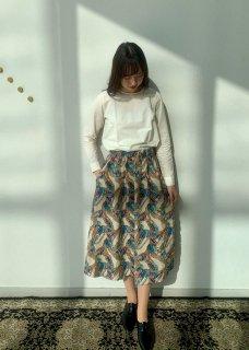 パレットフレアースカート