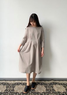 ・cotton linen drop pocket OP