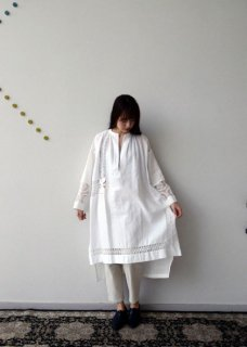 Table cloth dress white【限定】