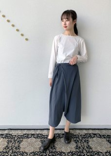 <img class='new_mark_img1' src='https://img.shop-pro.jp/img/new/icons14.gif' style='border:none;display:inline;margin:0px;padding:0px;width:auto;' />cotton double wrap sarrouel pants
