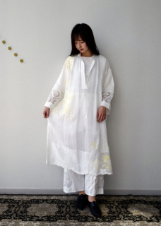 Table cloth dress yellow 【限定】