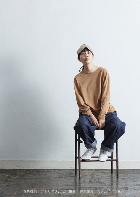 コットン ~homme~ カットソー(長袖)