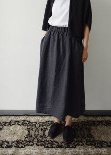 linen drop pocket skirt