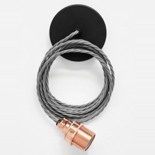 NOOK LONDON COPPER HOLDER & ELEPHANT GREY