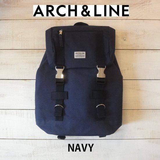 ARCH&LINE(アーチアンドライン) UTILITY BAG NAVY リュック ARCH&LINEより入荷