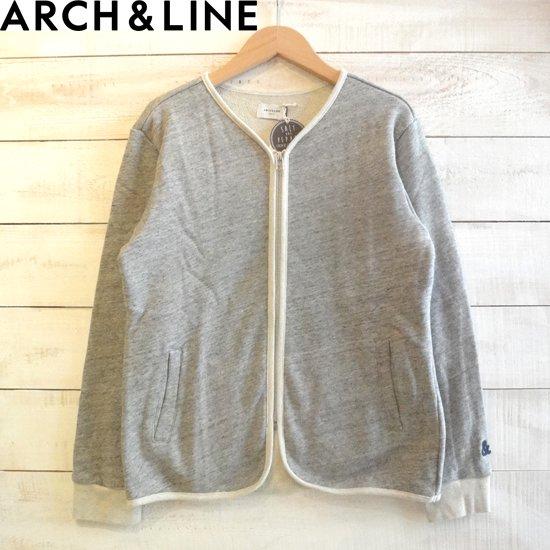 ARCH&LINE(アーチアンドライン) SALT TERRY カーディガン レディース グレー ARCH&LINEより入荷