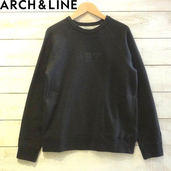 ARCH&LINE(アーチアンドライン) レディース OG TERRY ART トレーナー  CHARCOAL  ARCH&LINEより入荷