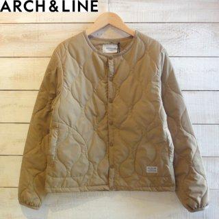 ARCH&LINE(アーチアンドライン) メンズ TAFFETA QILT HALF COAT ベージュ ARCH&LINEより入荷