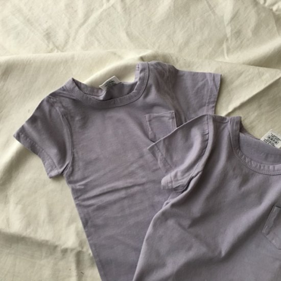 <img class='new_mark_img1' src='//img.shop-pro.jp/img/new/icons14.gif' style='border:none;display:inline;margin:0px;padding:0px;width:auto;' />pocket T-shirt/ lavender 【※こちら1点のみご注文の方は送料250円です】