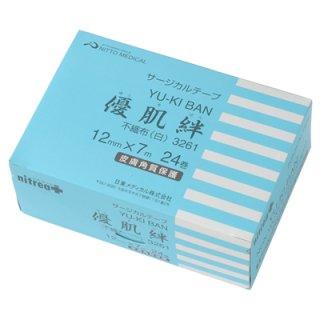 メディカルサージカルテープ 優肌絆 不織布(白) 1個