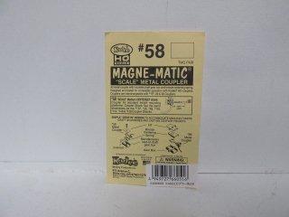 MAGNE-MATICカプラーNo.58