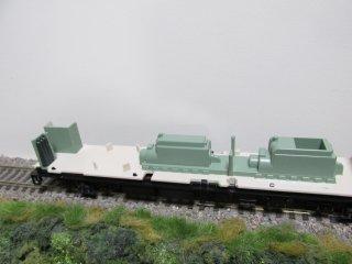 KATO1-543 カニ24 0 エンジン・炭酸ガスボンベ塗装改造特製品
