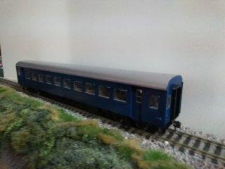 HO-5004 国鉄客車ナハフ10(ナハフ11)青色