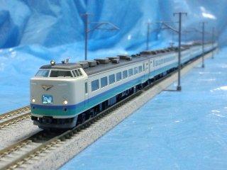TOMIX98216+98217 JR485系特急電車(上沼垂色・白鳥)基本セットB増結セット合わせて9両