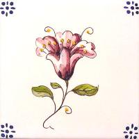 ポルトガルタイル(アズレージョ)【フロール・FLC2】花・カラー