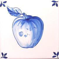 【フルータ・FA5】りんご・青単色