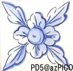 【パドラォン・PD5】青単色