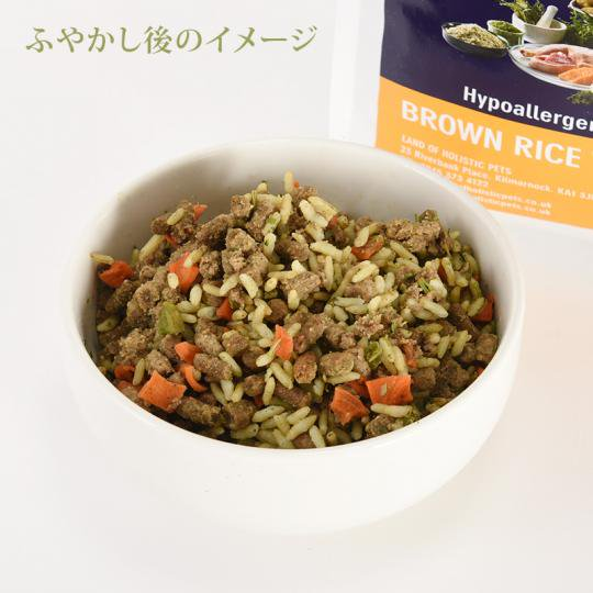 [イメージ] BROWN RICE AND CHICKEN(2.5kg)