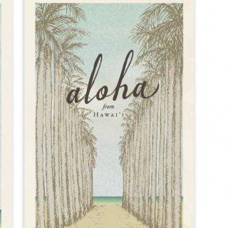 aloha from Hawaii ポストカード(5枚入)