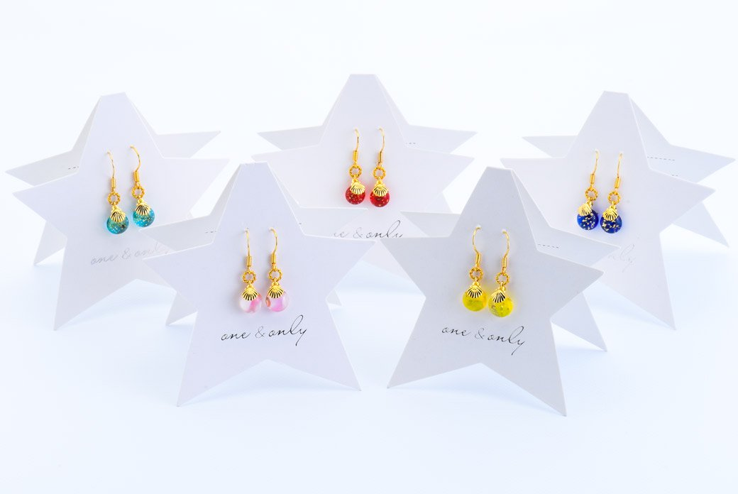 STAR GLASS ピアス