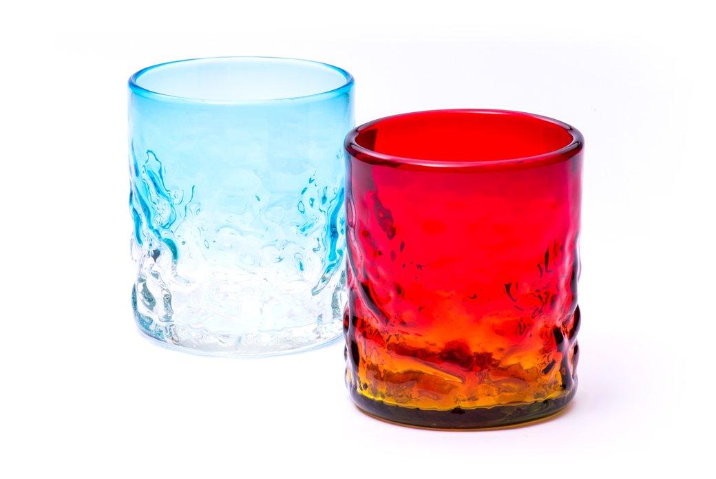でこぼこグラスS 2個セット